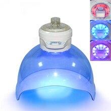 Новая Кислородная струйная машина для очистки лица Пароварка Водородная вода машина с светодиодный светильник Фотон терапия омоложение кожи увлажнение