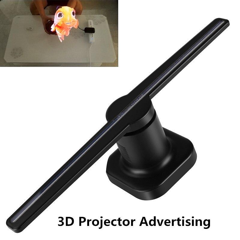 3D Projecteur Hologramme Lumières 20 w Projecteur Led Magasins Lumière Couleur Faisceau Disco KTV Club Party Boutique Certification CE Restaurant boutique