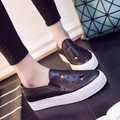 Free shipping spring and summer hollow canvas shoes, leather casual shoes a pedal