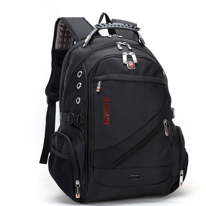 ФОТО New fashion Canvas backpack Leather retro casual men's and women's backpack Computer bag leather 9016#