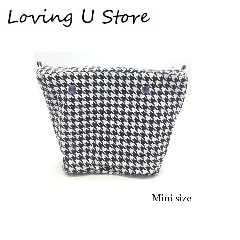 1 Piece Mini Size Canvas Organizer For Obag Mini Size Bag Tote