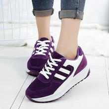 Fall breathable casual shoes women comfortable shallow mouth outdoor walking shoes lightweight size 35-39