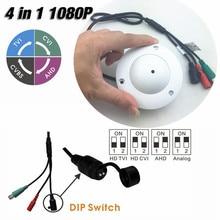 White 1080P 4 IN 1 AHD/TVI/CVI/CVBS Analog HD Security Camera For Elevator Lift With Waterproof Osd Menu 3.7mm Pin hole lens UTC
