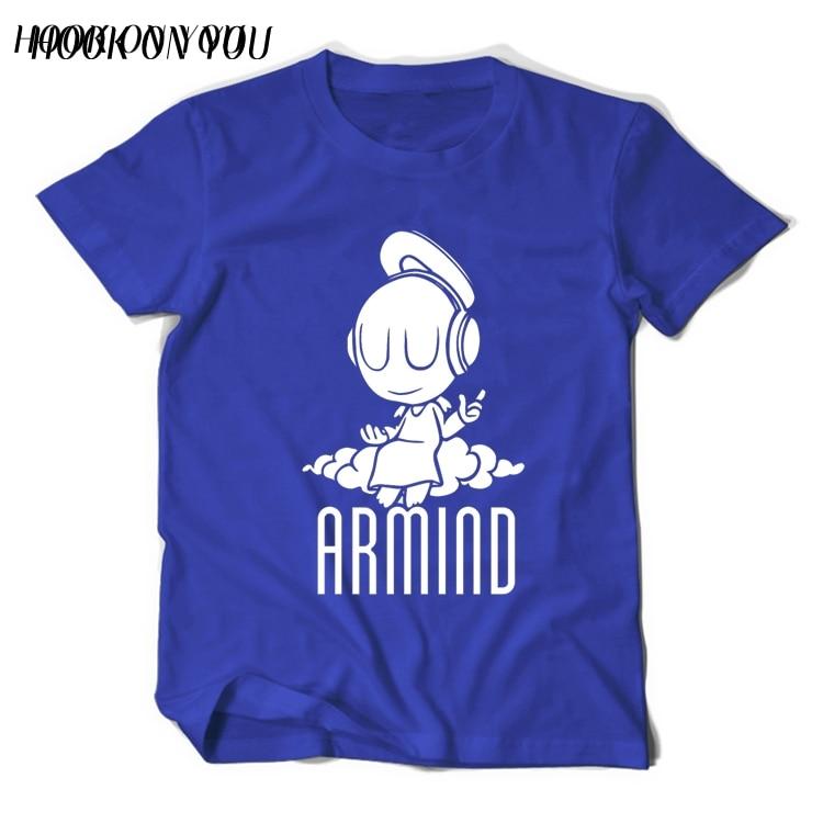 2017 Musikstjärnor DJ Armin Van Buuren T-shirt liten ängel Armind 2 - Herrkläder - Foto 3