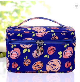 Customize Girls Cute Folding Travel Makeup Case For Purse