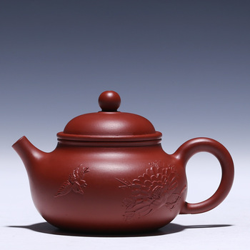 recommended masters all hand undressed ore mud zhu dahongpao pot of kung fu tea set gift custom mud painting for days