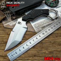 LCM66 Tactical Karambit Scorpion Claw Knife Outdoor Camping Jungle Survival Battle Fixed Blade Hunting Knives Self