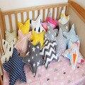 Estrela Estilo Decorativo Almofada Do Sofá Do Assento Cóccix Saudável Para Dormir Travesseiro Almofadas de Meditação Brinquedos As Crianças Decoração Do Quarto Do Bebê