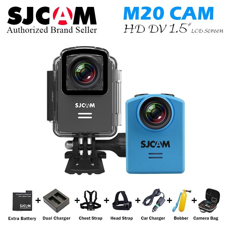 Original SJCAM M20 Action Camera HD 1080P Sports DV 1.5 LCD  4k wifi  Mini Camcorder Diving 30M Waterproof Camera DVR sj m20 Cam sjcam sj4000 2 0 inch screen action camera 1080p full hd waterproof 30m diving sj cam 4000 sport dv bike mini helmet camcorder