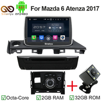 2GB RAM Octa Core 9 Android 6 0 Car Dvd Player For Mazda 6 Atenza 2017