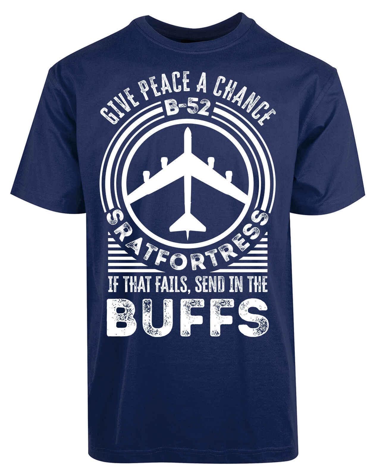 Daj pokój szansę B-52 T-Shirt sił powietrznych buforuje strategiczne dowództwo powietrzne