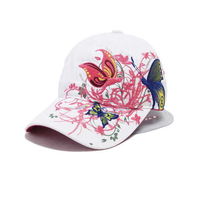 New Fashion China Style Baseball cap Fashion Leisure Flowers Hats Vintage  Adjustable Baseball Hat Cap For Women 2 colors 130d6900a059