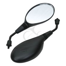 Universal Motorcycle Rear view Mirrors For GY6 Moped ATV 8 Vespa Scooter 8MM