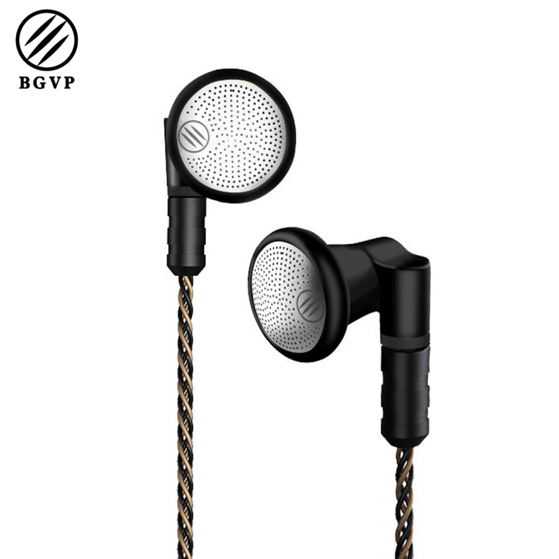 BGVP DX3s Metal Flat Earphone with 2.5mm/3.5mm 5N OCC 160 Wire Cable MMCX Detachable DIY Audio Monitor Earphone 800 wires soft silver occ alloy teflo aft earphone cable for ultimate ears ue tf10 sf3 sf5 5eb 5pro triplefi 15vm ln005407