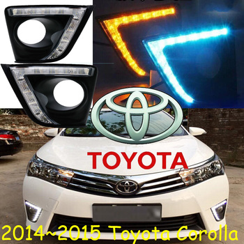 LED,2014~2015 Corolla daytime Light,Corolla fog light,Corolla headlight;vios,corolla,camry,Hiace,tundra,sienna,yaris фото