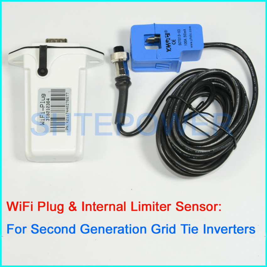 MPPT Second Grid Tie inverters Communication WIFI Plug for Web/Phone APP online  Monitor and inter limiter sensor investigation of modulation techniques for multilevel inverters