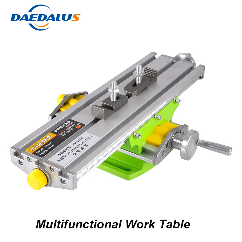 Free Shipping 6330 Bench Vise Work Table Multifunctional Manual Power Tools X Y-axis Adjustment For Drilling Milling Machine mini multifunctional cross working table bench vise manual tools x y axis adjustment table for drilling milling machine bg 6330