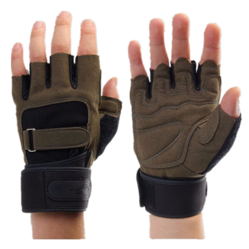 Weight Lifting <font><b>Gym</b></font> <font><b>Gloves</b></font> Men Sports <font><b>Gloves</b></font> Fitness Workout Exercise Training Protect Wrist Weightlifting <font><b>Gloves</b></font> Dumbbells