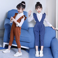 Children Clothing 2019 Autumn Spring school Girls Clothes T shirt+Pant 2pcs Outfit Kids Tracksuit Suits For Girls Clothing Set