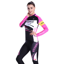 Summer Women MTB Bike Clothing Breathable Pro Team Road Bicycle Clothes Quick-Dry Spring Autumn Long Sleeve Cycling Jersey Sets цена 2017