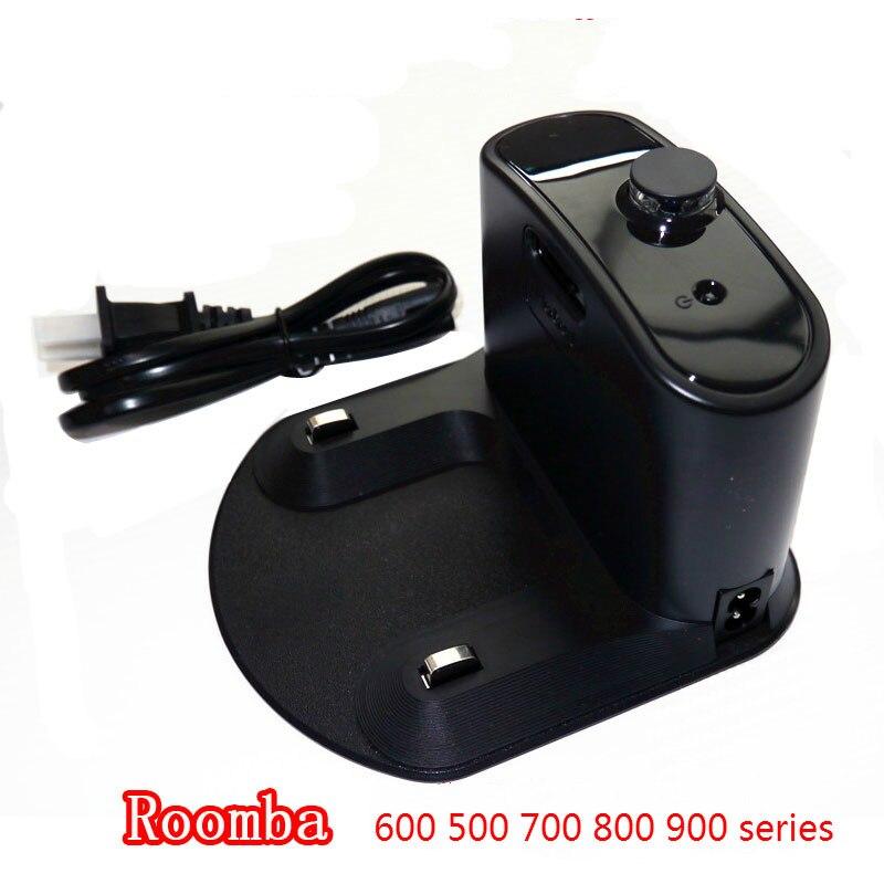 Socle de charge pour iRobot Roomba 600 500 700 800 900 série 980 960 780 620 630 760 770 780 Robot Aspirateur Pièces-in Pièces d'aspirateur from Appareils ménagers    1