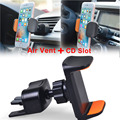 360 Degree 2 in 1 Car Air Vent CD Slot Mount Holder Stand For Cell Phone New Replacement Parts For iphone LG Huawei Sony HTC