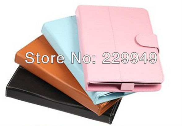 """7"""" Rotatable Tablet PC Leather Case Fashion Design"""