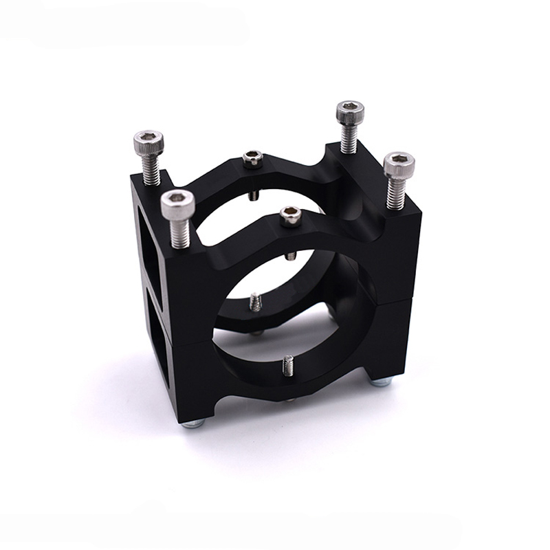 1PC CNC Aluminum Alloy 40mm Tube Clamp Pipe Fixture Clip for 40mm Carbon Tube Agriculture Plant Protection Multicopter Drone