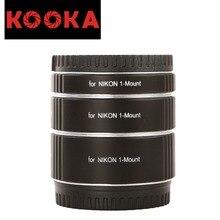 KOOKA KK-NM47A Aluminium Alloy Extension Tube Set TTL Exposure for Nikon 1-Mount Mirrorless Cameras (10mm 16mm 21mm)