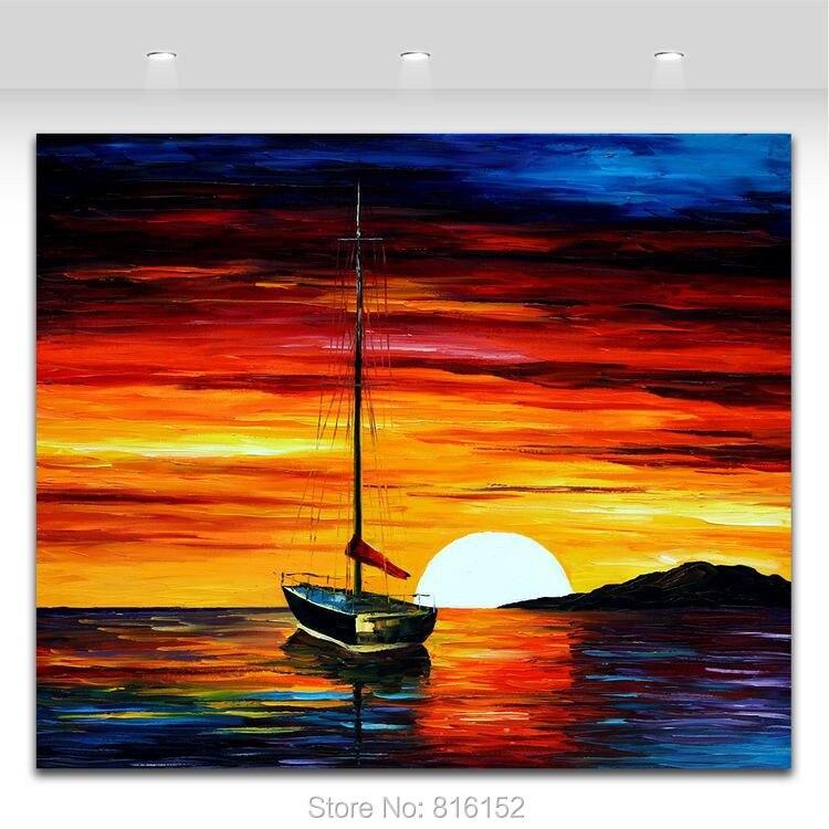 680 Koleksi Lukisan Pemandangan Pantai Sunset Gratis Terbaik