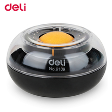 Deli wholesale high quality cute finger wetted tool for office financial analyst file arrange supply round ball desk paper mate