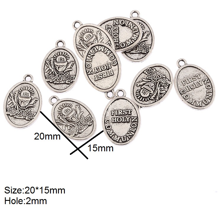 Shell Charm//Pendant Tibetan Antique Silver 15mm  10 Charms Accessory Jewellery