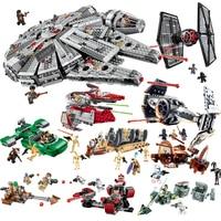 Compatible Avec Legoe Star Wars Blocs de Construction Briques Jouets Espace Starwars Figurines Trooper Combattant Jouets 2018 Nouveau Gitfs