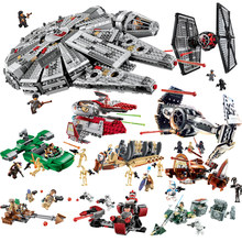 Compatible With Legoe Star Wars Building Blocks Bricks Toys Space Starwars Action Figures Trooper Fighter Toys 2018 New Gitfs(China)