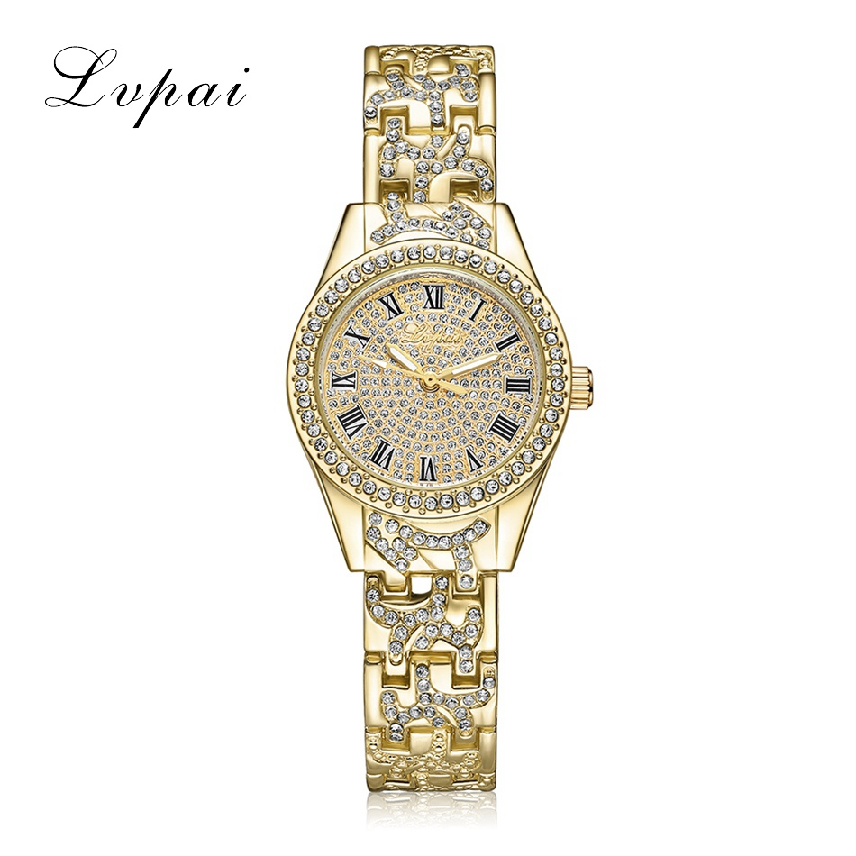Lvpai Brand Watches Women Round Wristwatch Ladies Fashion ...