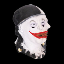 2018 Hot Sell Realistic Party Dress Adult Latex Rubber Halloween Clown Mask Demon