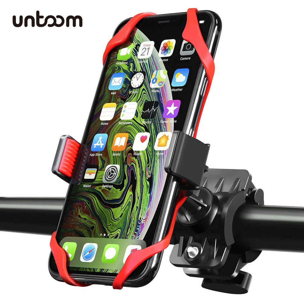Universal Bike Bicycle Mobile Phone Holder Anti-Slip Motorcycle Handlebar Mount For IPhone X Xs Max Samsung Huawei Xiaomi Redmi
