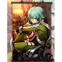 Sword Art Online Sinon Cool Japón cartoon Anime Poster pared desplazamiento cartel decoración del hogar regalo 60x90cm