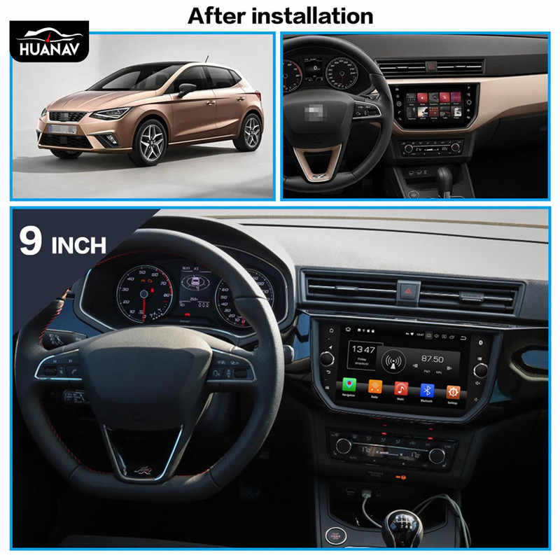 Android 9 No Car Dvd Player Gps Navigation For Seat Ibiza 2018