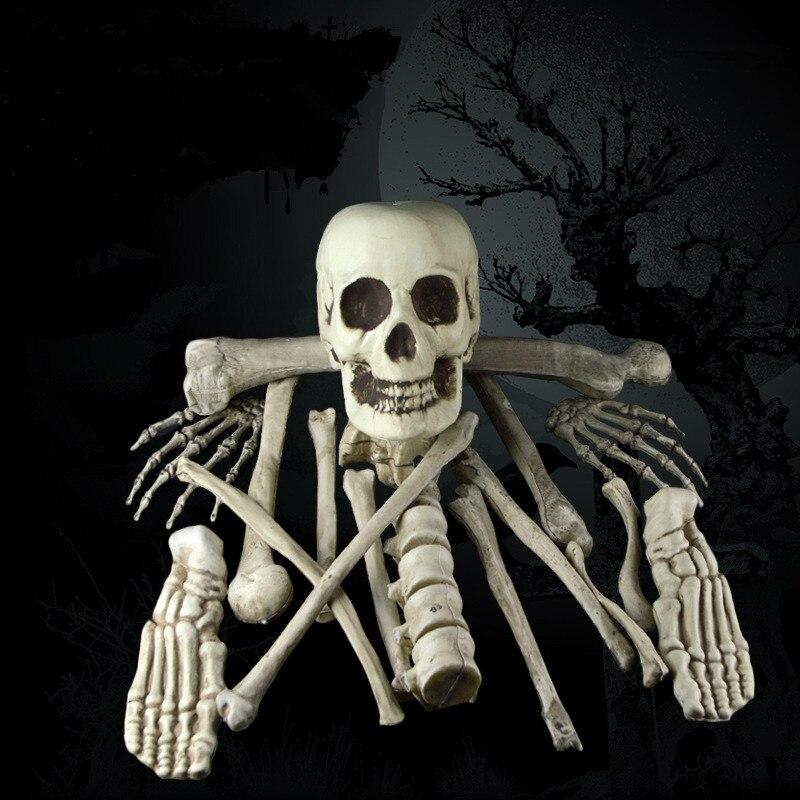 12PCS/Set Halloween decoration skull skeleton halloween party decor home decoration