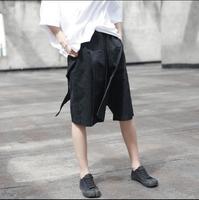 Walk In Dark 2017 Women S Summer Fashion Dark Desinge Short Pants Vintage Element Fake Two