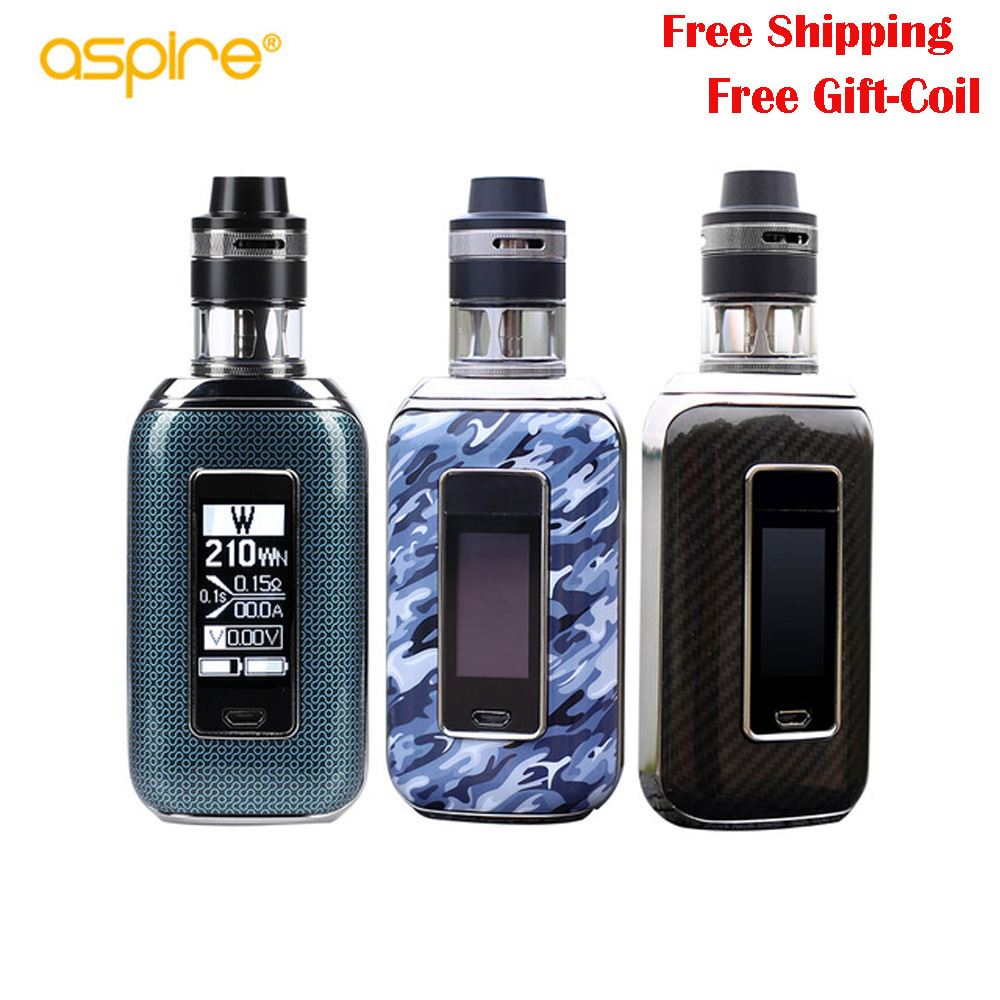 Original aspire Aspire SkyStar Revvo kit electronic cigarette with 210W SkyStar Box Mod vape 2ml/3.6ml Revvo Tank Vaporizer цена