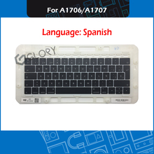 Laptop A1706 A1707 Spain Spanish Keycap for Macbook Pro Retina 13″ 15″ Keycaps Complete set Late 2016 Mid 2017