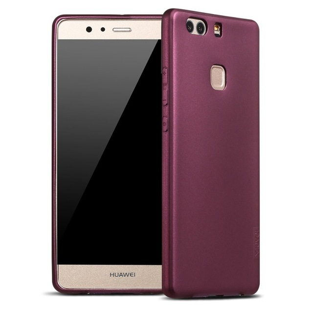 X-mức độ người giám hộ mềm matte tpu case cho huawei p9 plus chà back cover đối với huawei p9plus vie-l09 dual sim vie-l29 silicon case