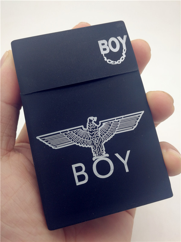 Charm Men Business Silicone Cigarette Box Cartoon Soft Smoking Cigarette Case