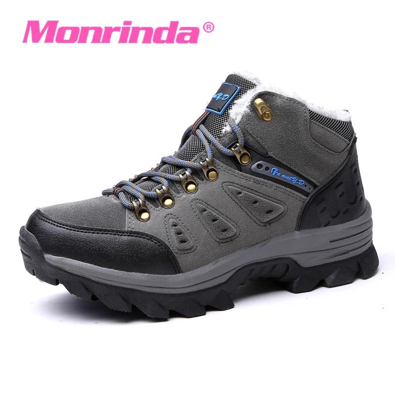 Baskets pour hommes en plein air hiver chaussures de marche chaussures de Jogging confortables chaussures d'hiver femmes chaussures garder au chaud bottes 3100