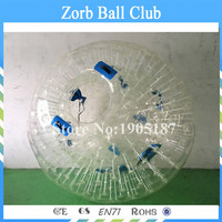 Free Shipping 3m PVC Inflatable Playground Zorb Ball For kids!Human Hamster Ball, Grass Zorbing Ball, Durable Zorb Ball