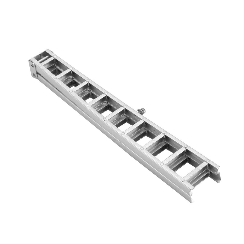 150mm Aluminum Alloy Mini Long Ladder for 1 10 RC Rock Crawler Axial SCX10 90046 D90 D110 TAMIYA CC01 Traxxas TRX 4 Car in Parts Accessories from Toys Hobbies