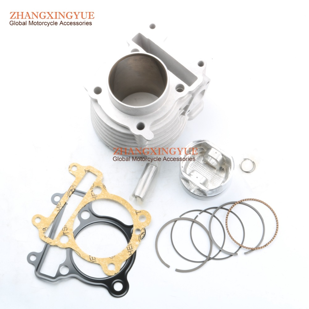 175cc 61mm ceramic Big Bore Cylinder for YAMAHA YW 125 BWS/ZUMA 125 cygnus-x / -sr / -fi high quality air filter for yamaha bws100 4vp zuma yw 50 4vp e4410 00