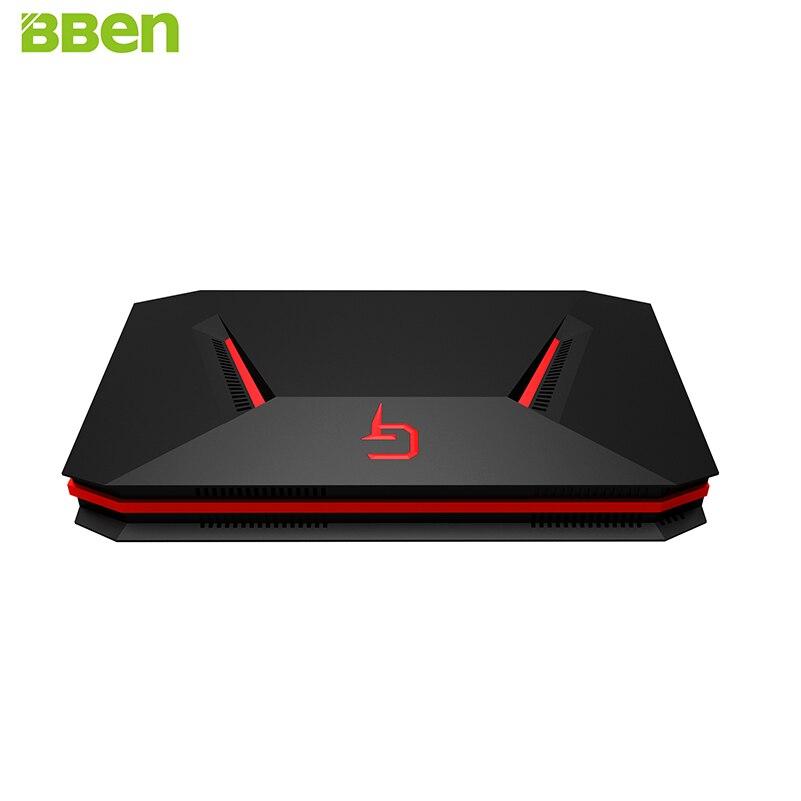 BBEN GB01 Mini PC NVIDIA GTX1060 GDDR5 6g Intel i7 7700HQ Windows 10 32g RAM 256g SSD 1 t HDD WiFi LAN Port de Jeu Ordinateur
